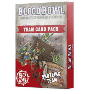 Games Workshop BLOOD BOWL: SNOTLING TEAM CARD PACK