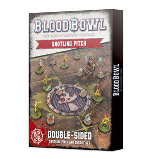 Games Workshop Blood Bowl Double-sided Snotling Pitch and Dugout Set