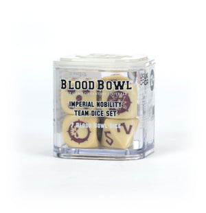 Games Workshop BLOOD BOWL IMPERIAL NOBILITY TEAM DICE