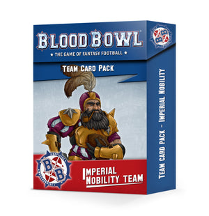 Games Workshop BLOOD BOWL: IMPERIAL NOBILITY CARD PACK