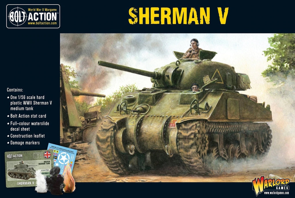 Bolt Action: Sherman V Plastic Tank
