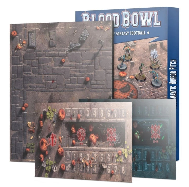 Games Workshop Necromantic Horror Pitch – Double-sided Pitch and Dugouts