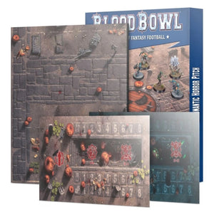 Games Workshop Necromantic Horror Pitch – Double-sided Pitch and Dugouts Stock pick up only