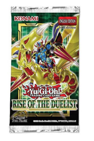 YU-GI-OH RISE OF THE DUELIST BOOSTER PACK