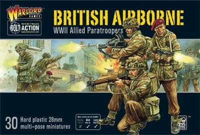 Bolt Action  AIRBORNE WWII ALLIED PARATROOPERS