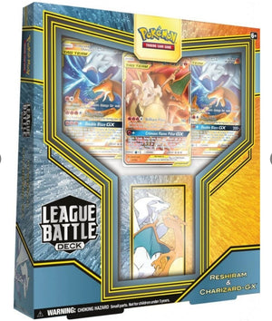 POKEMON - LEAGUE BATTLE DECKS  RESHIRAM & CHARIZARD-GX