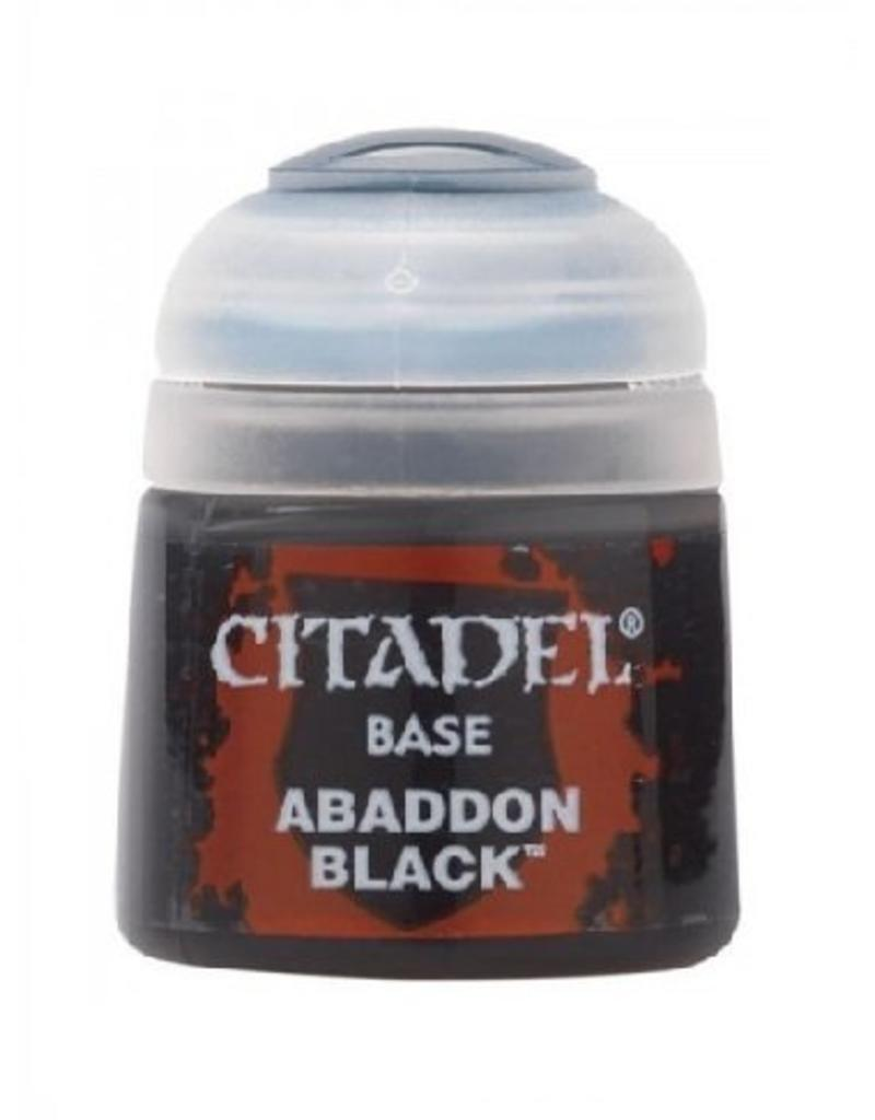 Citadel Base: Abaddon Black 12Ml