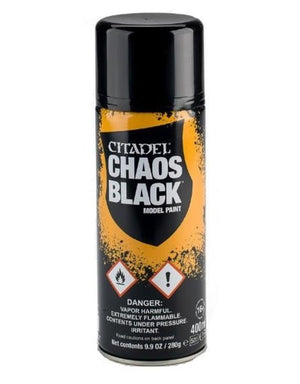 Citadel Chaos Black Spray 400Ml