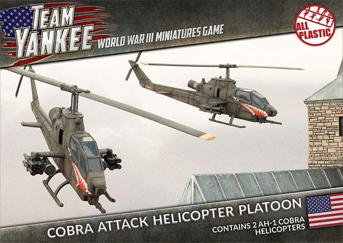 Cobra Attack Helicopter Platoon - Team Yankee Americans - TUBX05