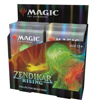 MTG - Zendikar Rising Collector Booster Display