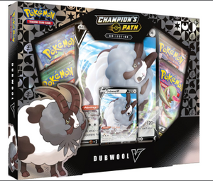 Pokemon TCG: Champion's Path Collection Dubwool V Box