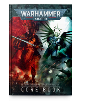 Games Workshop Warhammer 40,000 Core Rule Book