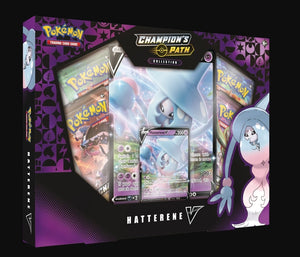 Pokemon TCG: Champions Path Hatterene V Box