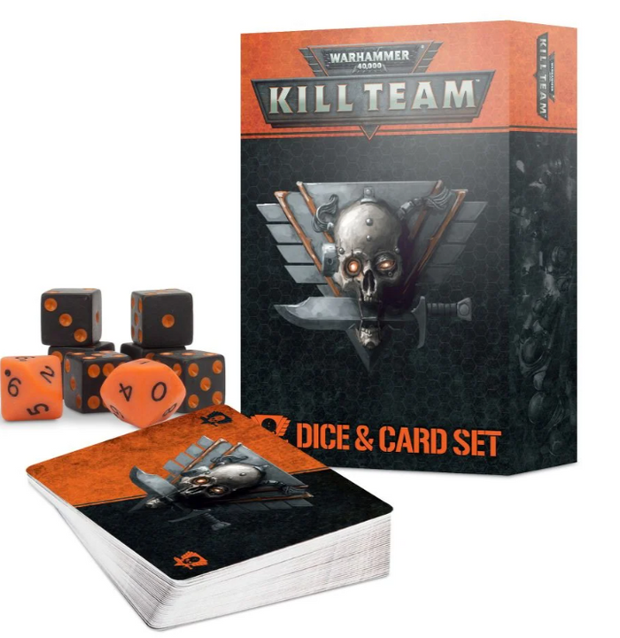 Games Workshop Kill Team Card and Dice Set