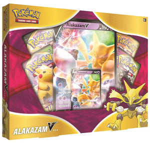Pokemon TCG: Alakazam V Box