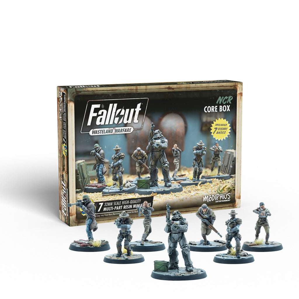 Fallout: Wasteland Warfare - NCR Core Box