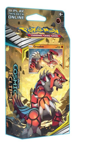 POKEMON Theme Deck : Groudon - Sun and Moon Cosmic Eclipse