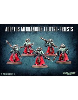 Games Workshop Adeptus Mechanicus Electro-Priests