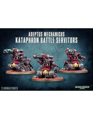 Games Workshop Adeptus Mechanicus Kataphron Battle Servitors