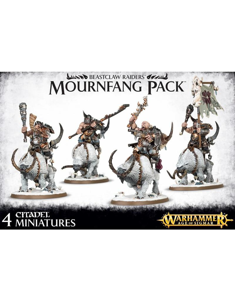 Games Workshop Beastclaw Raiders Mournfang Pack