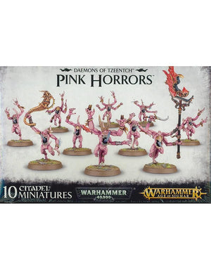 Games Workshop Chaos Daemons Pink Horrors Of Tzeentch
