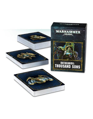 Games Workshop Datacards: Thousand Sons (En)