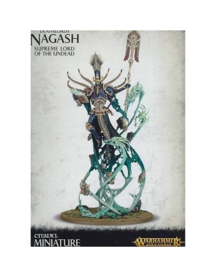 Games Workshop Deathlords Nagash Supreme Lord Of The Undead
