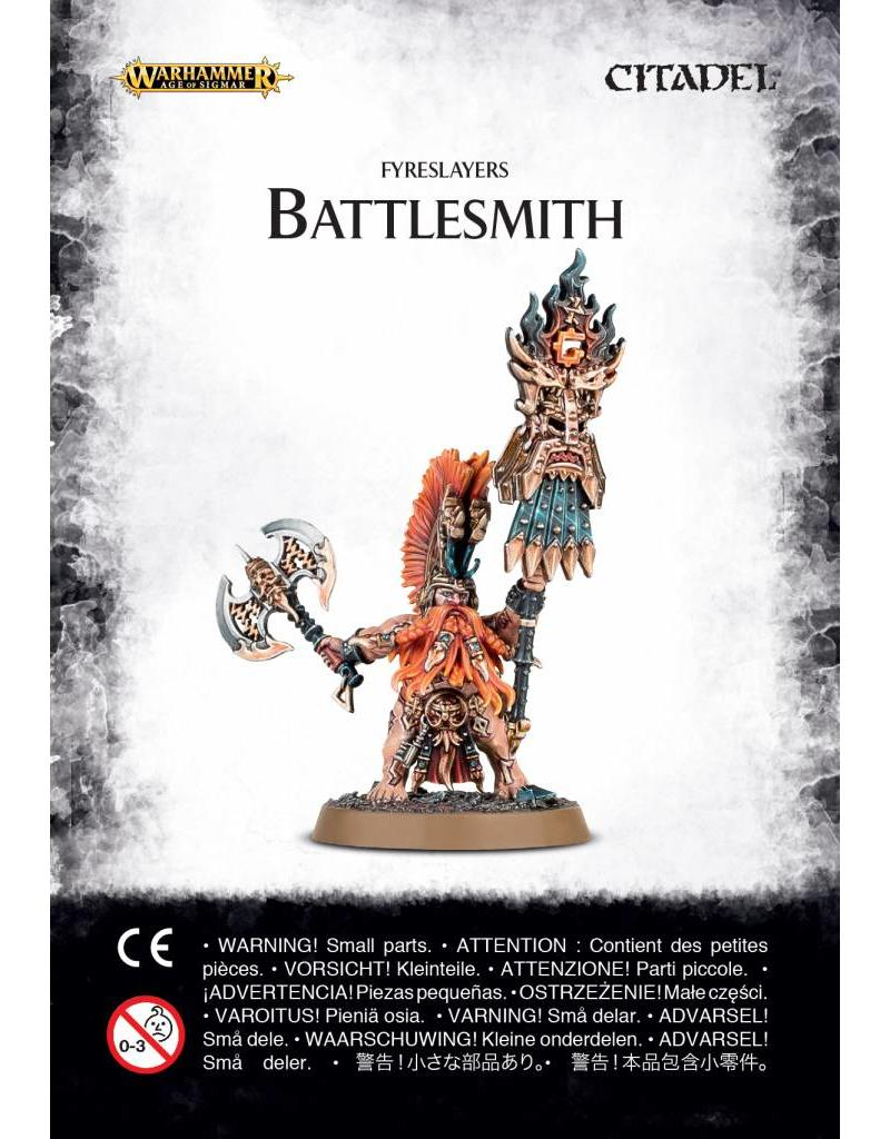 Games Workshop Fyreslayers Battlesmith