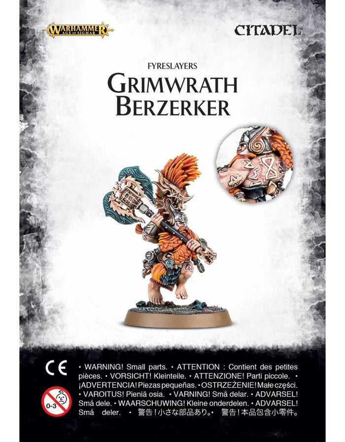 Games Workshop Fyreslayers Grimwrath Berzerker