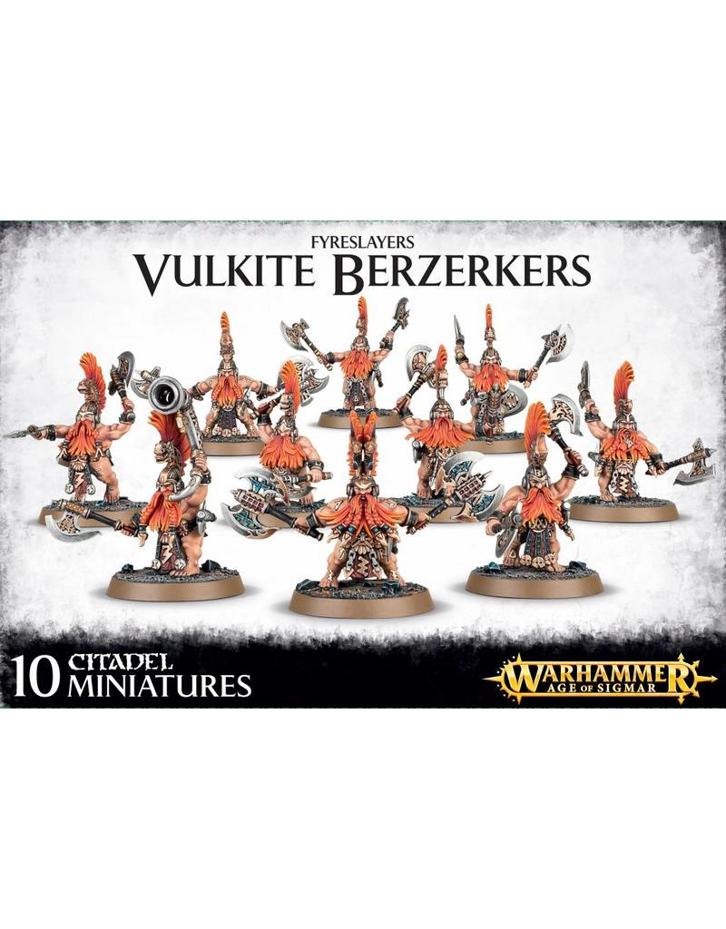 Games Workshop Fyreslayers Vulkite Berzerkers