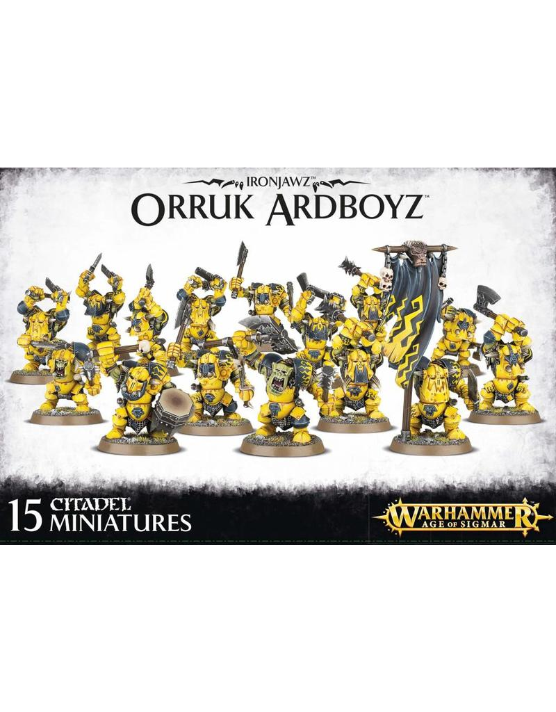 Games Workshop Ironjawz Orruk Ardboyz