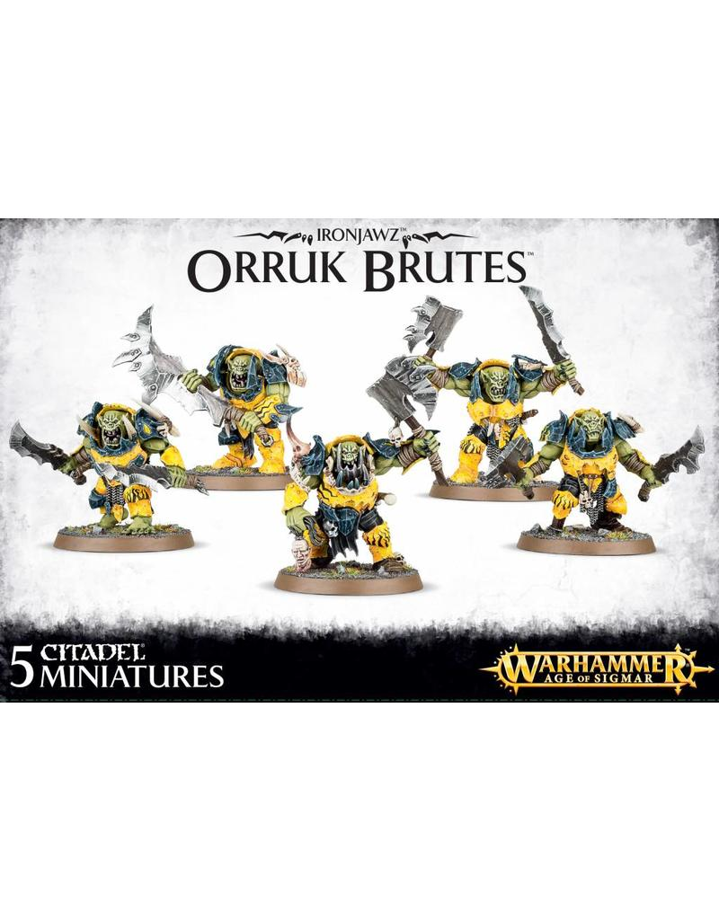 Games Workshop Ironjawz Orruk Brutes