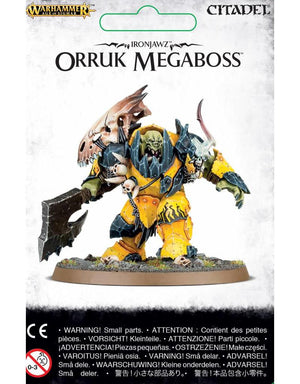 Games Workshop Ironjawz Orruk Megaboss