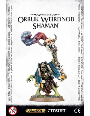 Games Workshop Ironjawz Orruk Weirdnob Shaman