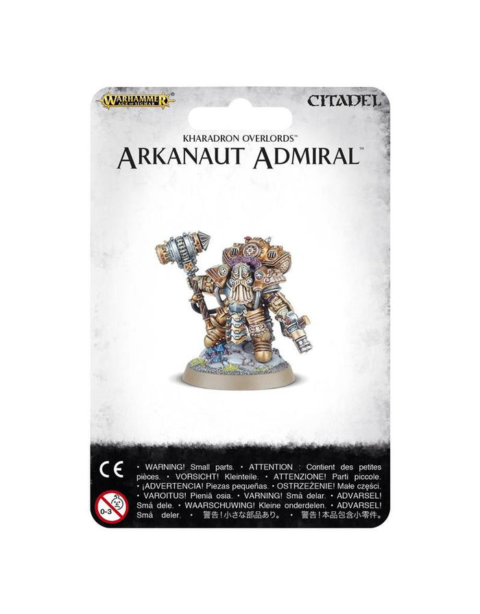 Games Workshop Games Workshop Kharadron Overlords Arkanaut Admiral