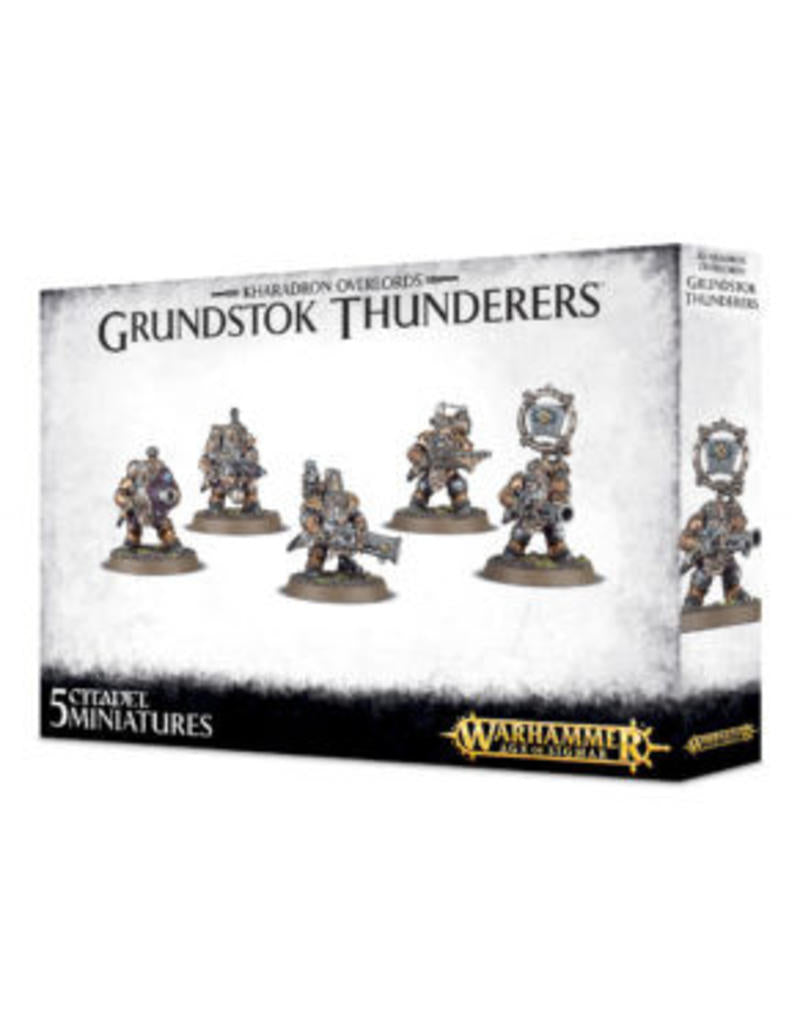 Games Workshop Kharadron Overlords Grundstok Thunderers