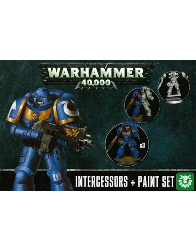 Games Workshop Primaris Intercessors + Paint Set