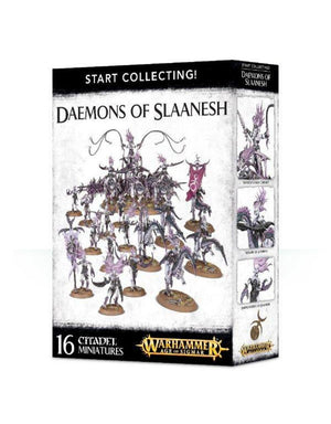 Games Workshop Start Collecting Daemons Of Slaanesh
