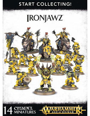 Games Workshop Start Collecting Ironjawz Orruks