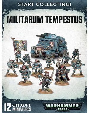 Games Workshop Start Collecting Militarum Tempestus