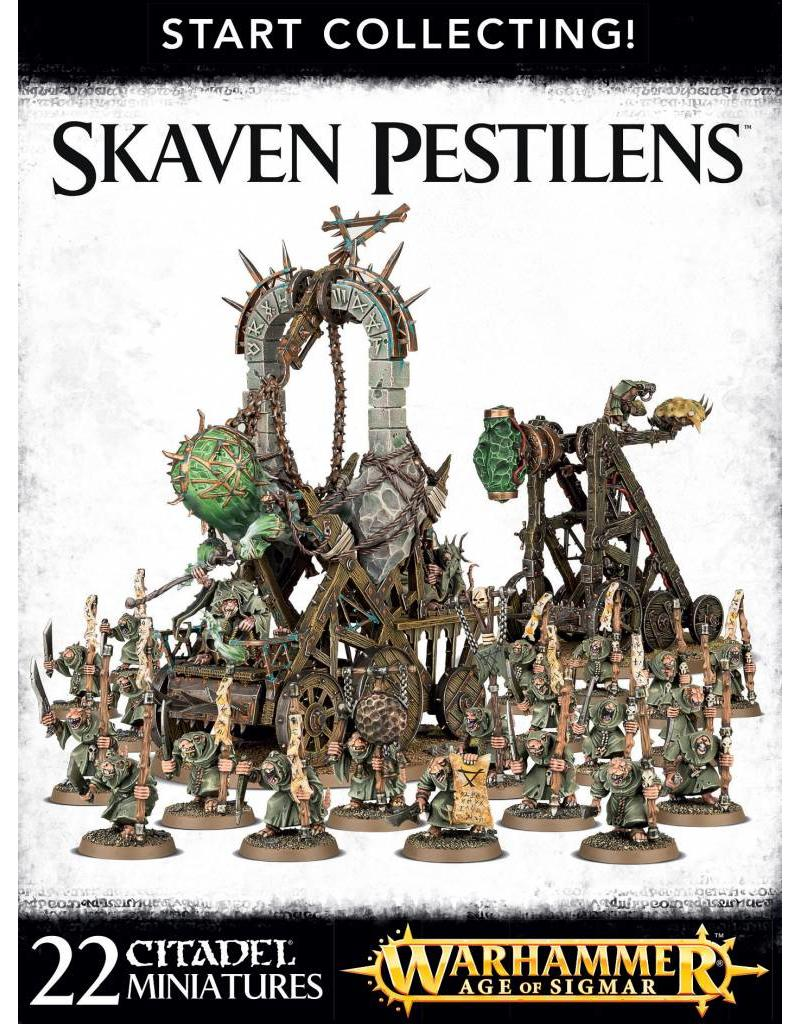 Games Workshop Start Collecting! Skaven Clan Pestilens