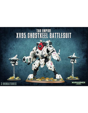Games Workshop Tau Empire Xv95 Ghostkeel Battlesuit