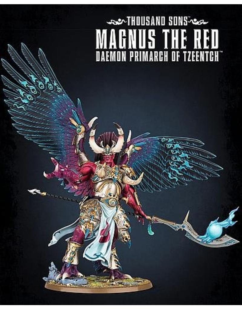 Games Workshop Thousand Sons Magnus The Red