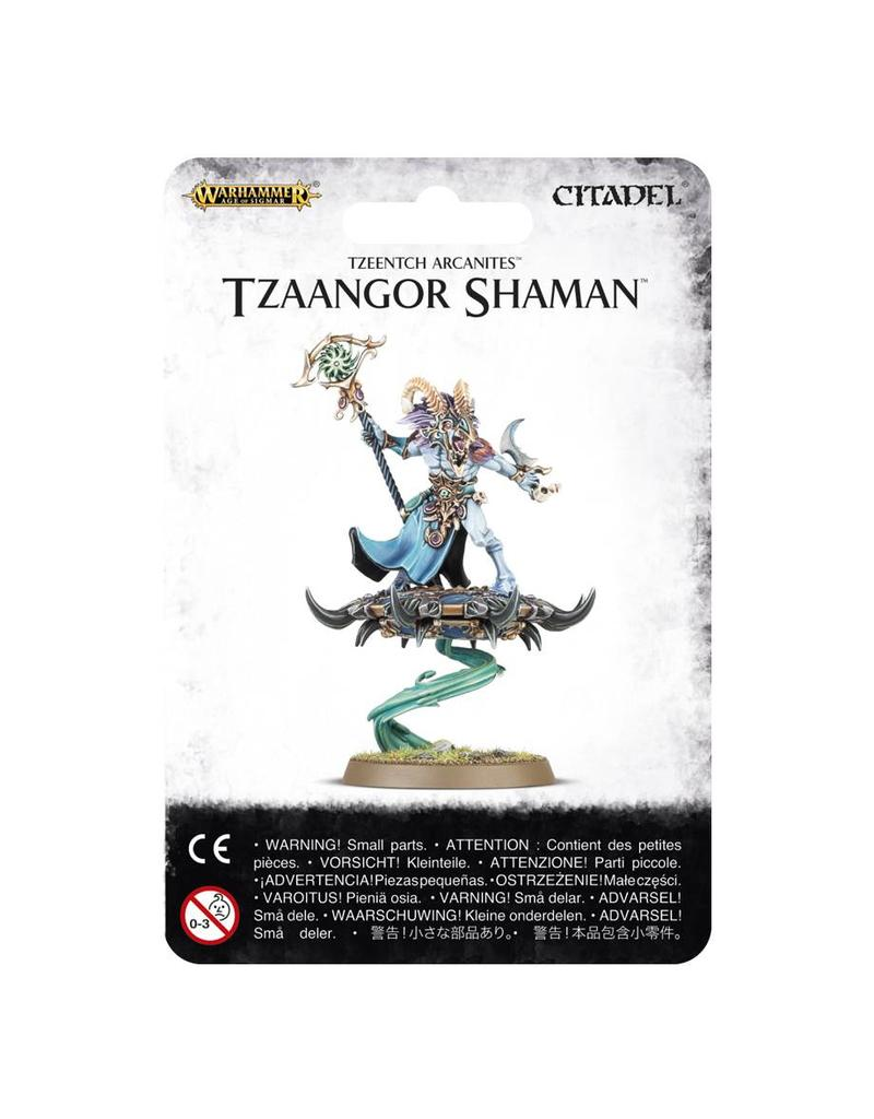 Games Workshop Tzeentch Arcanites Tzaangor Shaman