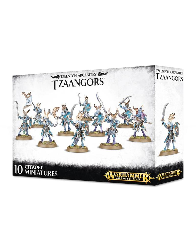 Games Workshop Tzeentch Arcanites Tzaangors