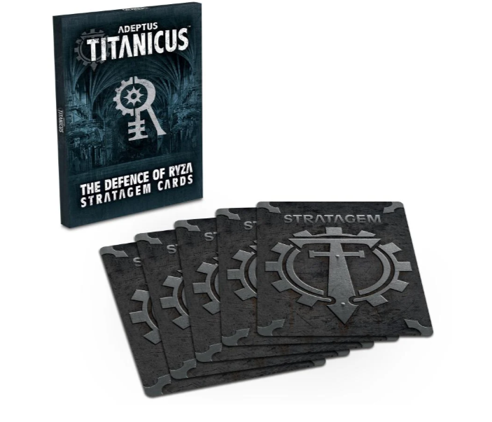 Games Workshop Adeptus Titanicus: The Defence of Ryza Stratagem Cards