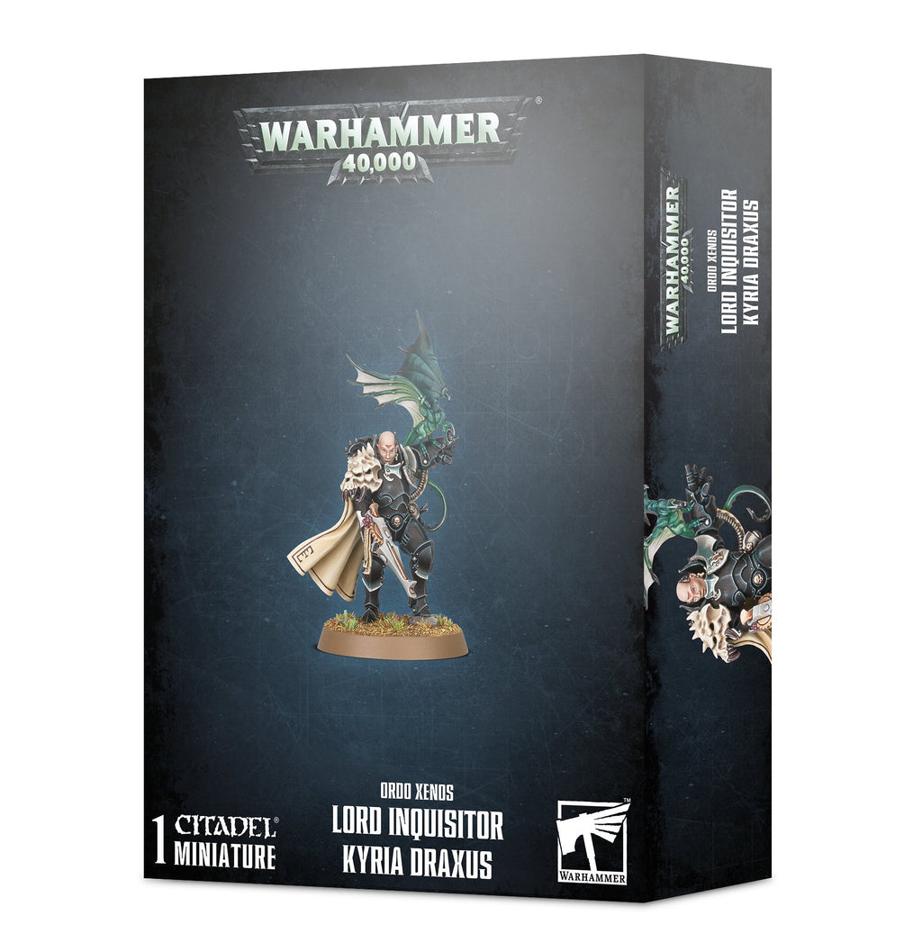 Games Workshop Ordo Xenos Lord Inquisitor Kyria Draxus
