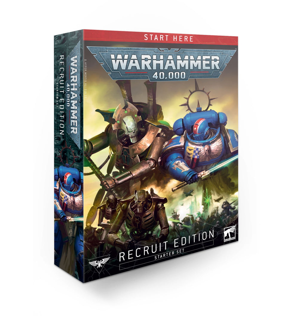 Games Workshop Warhammer 40,000 Recruit Edition