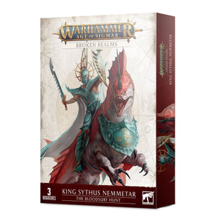 Games Workshop Broken Realms: King Sythus Nemmetar – The Bloodsurf Hunt