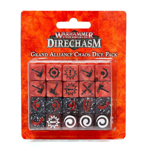 Games Workshop Warhammer Underworlds: Direchasm Grand Alliance Chaos Dice Pack